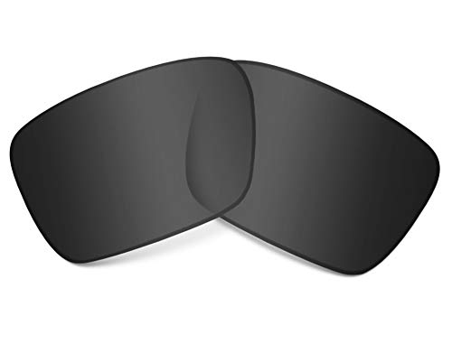 Replacement Lenses Compatible with OAKLEY Fuel Cell Polarized Black Iridium (Schwarz Oakley Fuel Cell Sonnenbrille)
