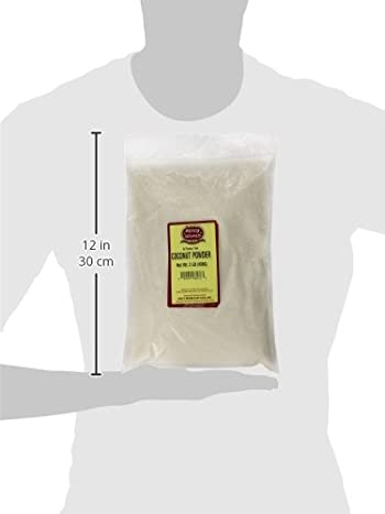 Spicy World Shredded Desiccated Unsweetened Coconut, 2 Pound