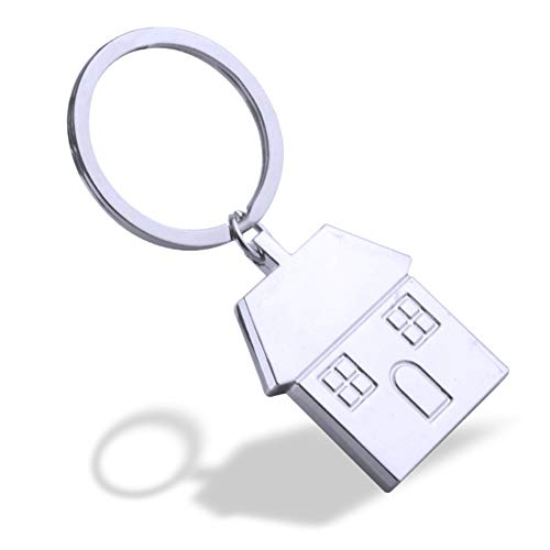eroute66 Home Owner Gift New House Keychain First Home Keyring for Trucker Dad Husband Boyfriend Valentines Day - House Keychain