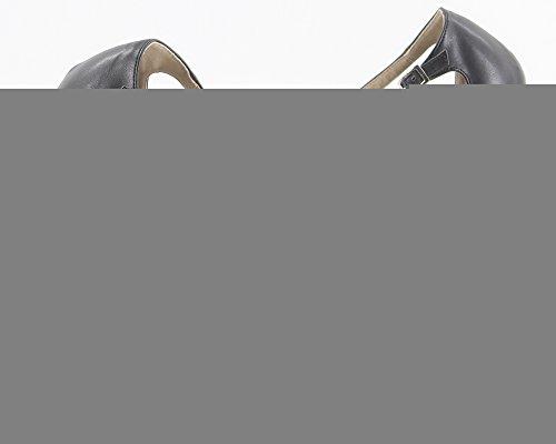 Cinghie In 3 Metallo Sexy Sandali Sottile Donne Delle Wonderheel 6 Tacco Fibbie wBqnf0