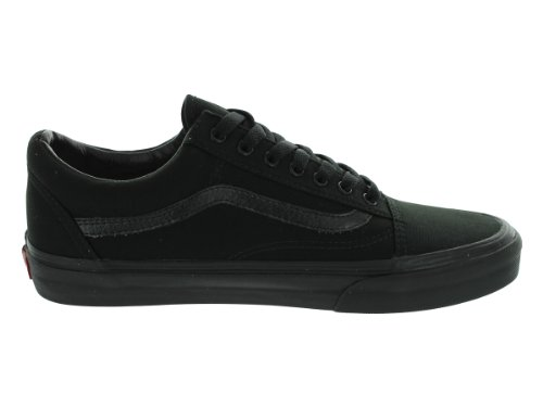 Old Classic Adulto Skool Sneaker Black Vans Suede Unisex Canvas Black pdqnvBFw