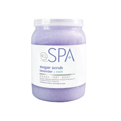Bio Creative Lab BCL Spa Sugar Scrub Lavender + Mint, 128 Ounce