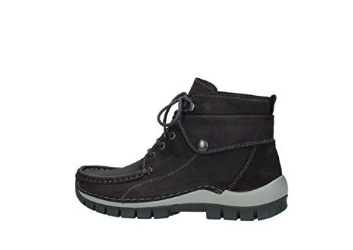 Sandals 3204 Leather Wolky grey 50600 Purple Womens Oiled Jewel Nubuck wpRwxI1q