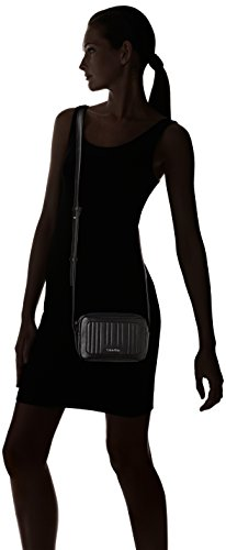 Calvin Klein Michelle Small Cross - Bolso bandolera Mujer Noir (Black)