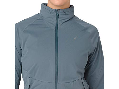 ASICS 2012A018 Women's System Jacket, Ironclad, Small by ASICS (Image #4)