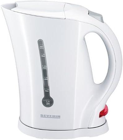 SEVERIN WK 3482 Wasserkocher Weiß//Grau