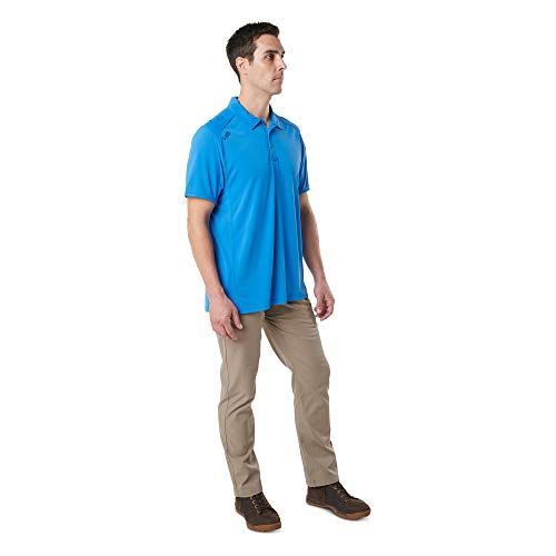 5.11 Tactical Men's Paramount Short Sleeve Polo, Polyester and Moisture Wicking Fabric, Style 41221