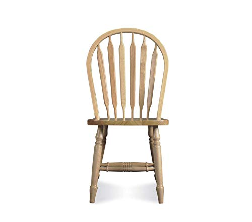 Premium Windsor Arrow Back Chair, Unfinished