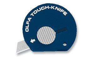 25 PACK Olfa Touch Knife TK-4N Color Navy Blue Model 1083066