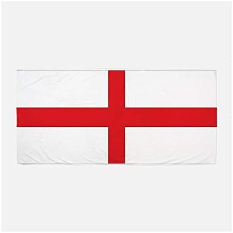 Union Jack Wear - Toalla de Playa, diseño de Bandera de San Jorge: Amazon.es: Hogar
