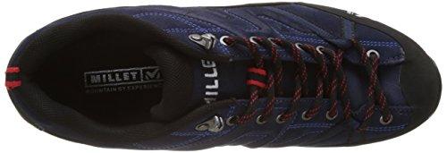Millet Trident Guide, Zapatillas de Senderismo para Hombre Multicolor (Saphir/rouge)