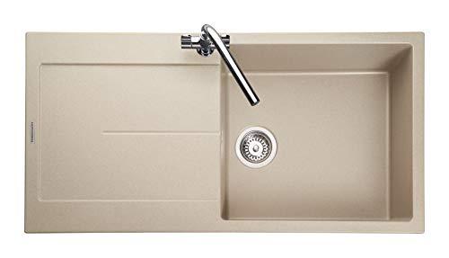 (Rangemaster SCO1051SN/ SCORIA IGNEOUS 1000500 1.0 BOWL STONE Kitchen Sink)