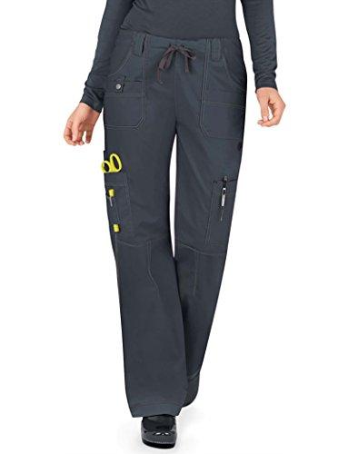 - Dickies Gen Flex Women's Youtility Drawstring Elastic Waist Scrub Pant Xx-Large Dark Pewter