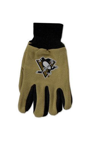 NHL Pittsburgh Penguins Two-Tone Gloves, - Malls Pittsburg
