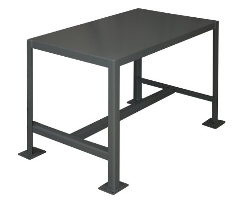 Durham Steel Medium Duty Machine Table, MT182430-2K195, 1 Shelves, 2000 lbs Capacity, 24″ Length x 18″ Width x 30″ Height