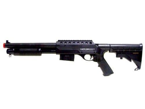 Pump Action Shotgun Airsoft Spring Gun by SPIG