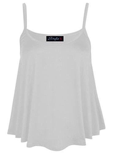 Riddled with Style - Camiseta sin mangas - para mujer blanco