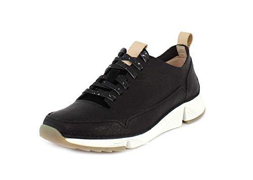 Sneaker 9 Nubuck Spark Clarks Womens Black Tri qnIzYXwY