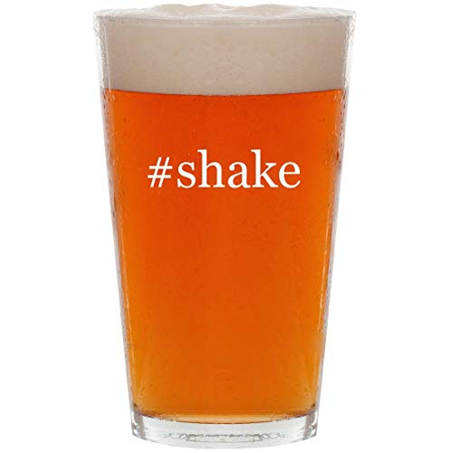 #shake - 16oz Hashtag Pint Beer Glass