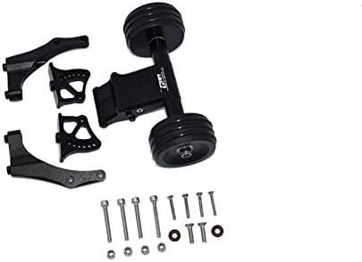 1 Set Black Arrma 1//5 KRATON 8S BLX//Outcast 8S BLX Upgrade Parts Aluminum Rear Wheelie with Wing Mount