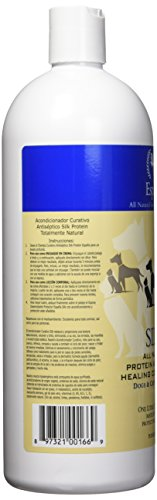 Image of Espana Silk ESP2120DC Specially Formulated Silk Protein Antiseptic Conditioner for Dogs and Cats, 33.82-Ounce