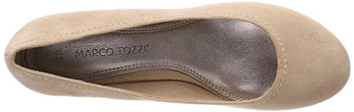 Beige Marco Closed 251 UK Women's Heels Tozzi Black 4 Nude Toe 22302 rzraFBq