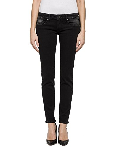 Rose REPLAY Donna Jeans Black Nero Denim 4drqdCwBx