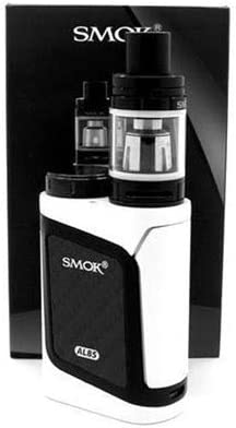 SMOK AL85 Alien Baby TC Kit de inicio de Cigarrillo Electrónico (Bianca/Negro) SMOK Sin Tabaco y Sin Nicotina