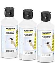 Karcher Raamzuiger glasreiniging oppervlakglans concentraat oplossing (3 stuks), kleurloos, 1