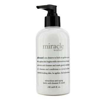 philosophy Miracle Worker Miraculous Lactic Acid Cleanser & Mask, 8 oz. by Philosophy