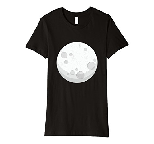 Womens Sun And Moon Eclipse Costume For Couples - Moon T-Shirt Medium (Moon Costumes)