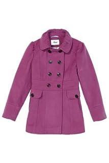 AW13 * Mimi niños niñas lindo invierno lana doble breasted abrigo sábana bajera ajustable