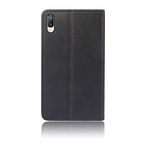 Torubia Vivo V11 Pro Holster Case Flip, Cover Suit Premium Vertical Leather  Pouch Sleeve Carrying Case Protect with Card Slot Holster for Vivo V11 Pro