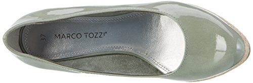 Marco Tozzi 22440, Sandalias con Plataforma para Mujer Verde (Mint 768)