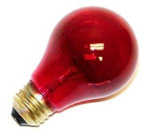 - GE Lighting 49727 25 Watt Red Crystal Color Party Light Bulb