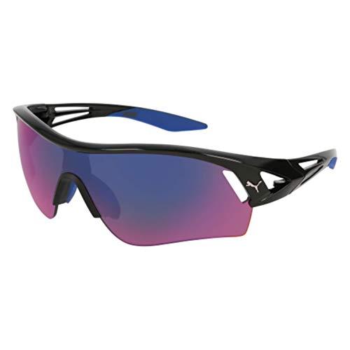 (Sunglasses Puma PU 0090 S- 010 BLACK/BLUE)