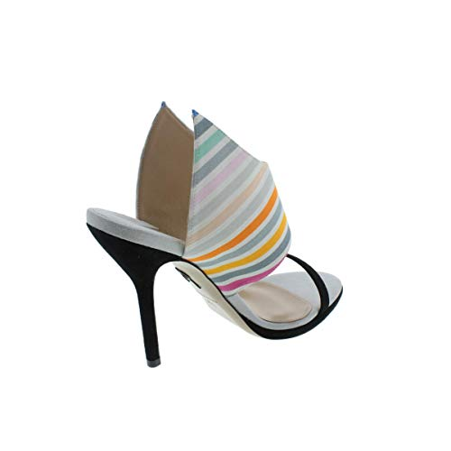 Trim Striped Suede Womens Paul rainbow Heels Nya stripes Andrew IAZXwq
