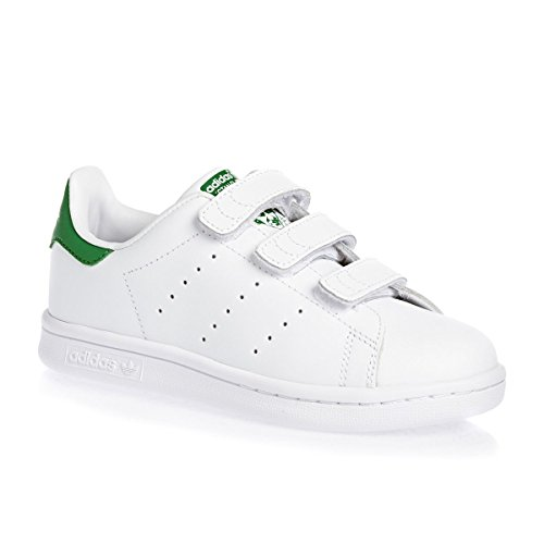 adidas Stan Smith, Baskets Basses Garçon Blanc