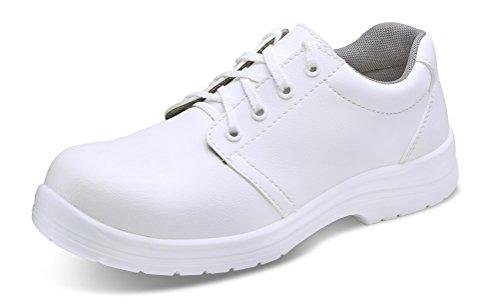 beeswift cf82208Haga clic Seguridad Calzado Micro Fibre Tie Zapatos W 08