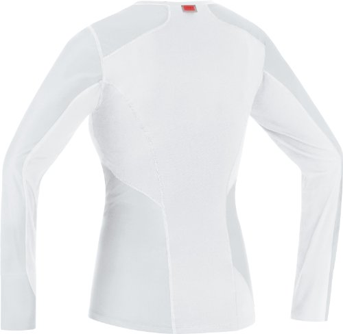 Gore Bike Wear Base Layer WindStopper Lady Manga Larga - Camiseta de ciclismo para mujer negro