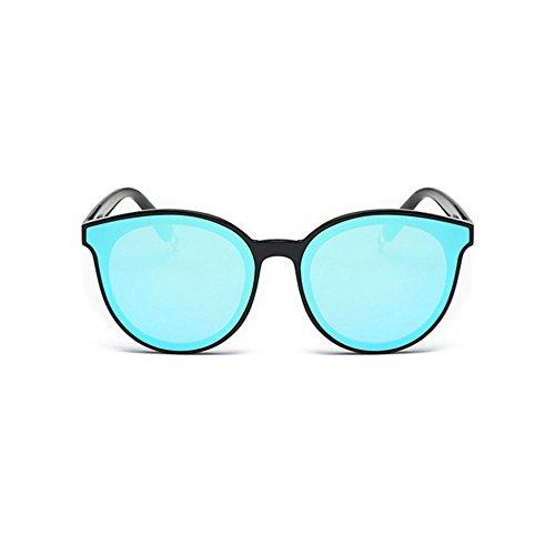 Aoligei La légende des lunettes de soleil bleu de la mer du même style fashion hommes et femmes lunettes de soleil Vd0Tu