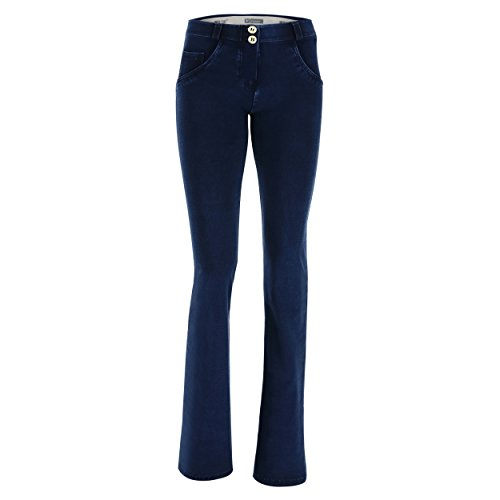 Pantalón De Campana En Wr Denim Regular Elástico Talle Freddy up® xptAqdpU
