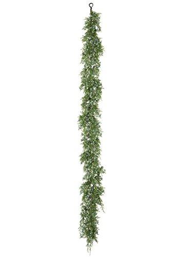 Artificial Outdoor Juniper Garland - 4' Long