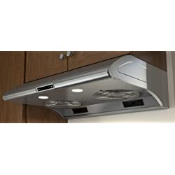 "Zephyr AK2100BS 30"" Power Typhoon Series Under Cabinet Hood with 850 CFM in Stainless Steel"