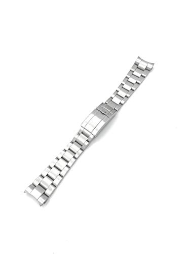 Rolex New 20mm Solid Stainless Steel Submariner Watch Strap Band For Rolex 116613lb
