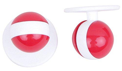 Kochkn?pfe kochknopf boutons boutons de 12 pices de diffrentes couleurs, noir, taille unique Blanc - ?sterreich