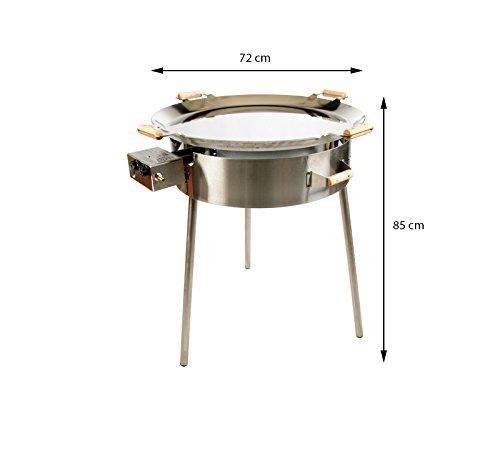 GrillSymbol Kit de Paella 720 INOX: Amazon.es: Hogar