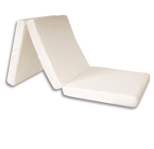 FoldNGo Adult Single Memory Foam Mattress, 27-Inch