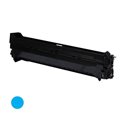 G&G 3 x Premium Color Drum Cartridge for OKI C9600/C9800 (42918103), Cyan, Page Yield: 42K ()