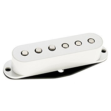 DiMarzio DP409W Virtual Vintage Heavy Blues 2 Single Coil White w/Bonus Deluxe Rock Island Sound Picks (x3) 663334017139